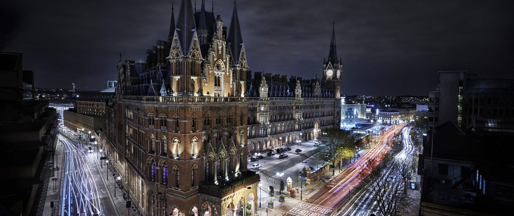 The Hansom, located in the St Pancras Renaissance Hotel